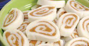 Peanut Butter Pinwheel Candy | Romancing the Bee