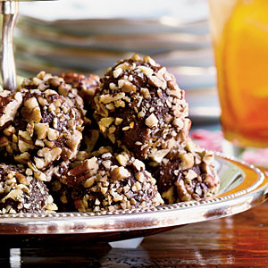 These are like old-fashioned bourbon balls , but updated with honey ...