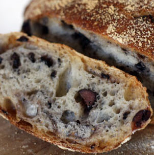 French Bread With Kalamata Olives And Thyme Recipes — Dishmaps