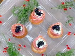 salmon roll ups