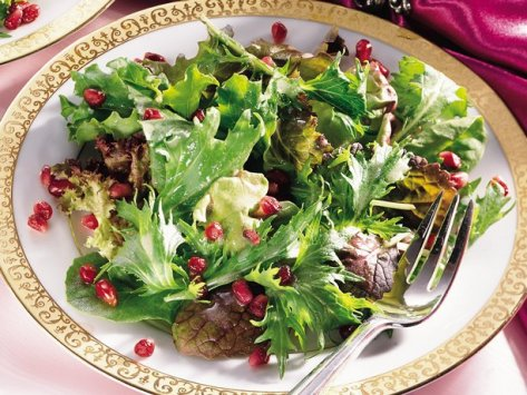 winter greens salad