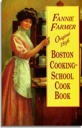 fannie farmer cookbook