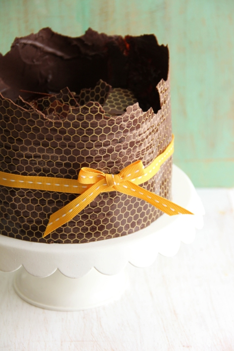 sprinkle bakes honey chocolate cake 4
