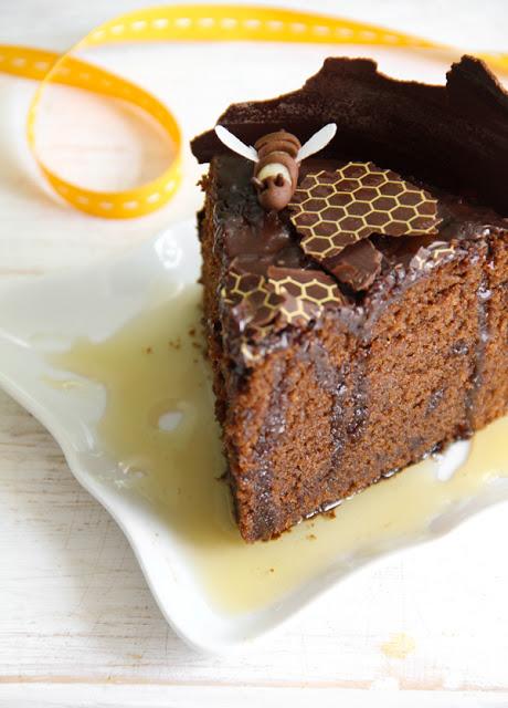 sprinkle bakes honey chocolate cake 6