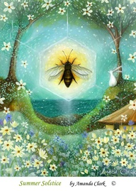 bee summer solstice