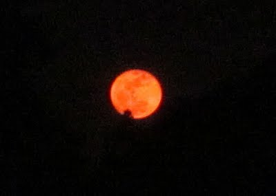 "Tonight's ""Blue Moon"" is More Likely to be Red..."