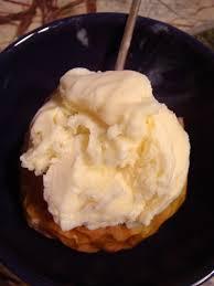 baked honey crisp apple